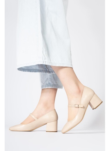 CZ London Hakiki Deri Ayakkabı Bej